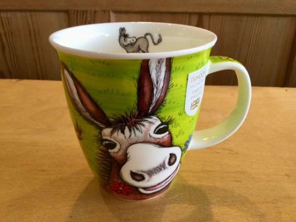 Porzellan Tassen Modell Nevis Donkey by Jane Brookshaw Esel
