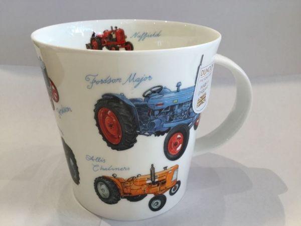 Porzellan Tasse (Traktoren)