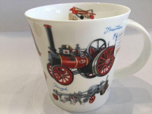 Porzellan Tasse (Dampfmaschiene)