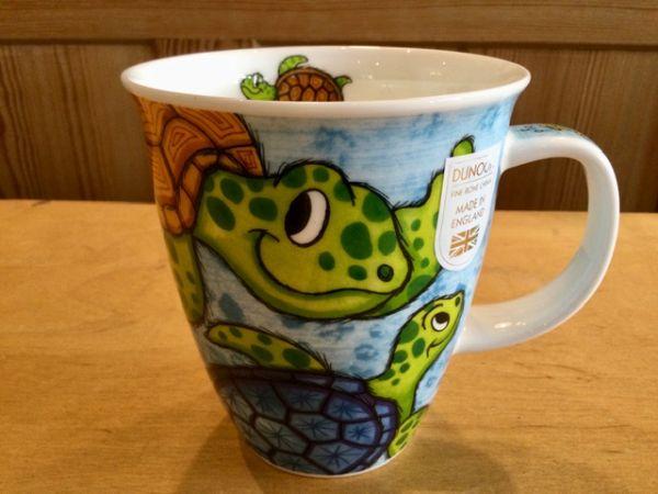 Porzellan Tassen Modell Nevis Turtle by Jane Brookshaw
