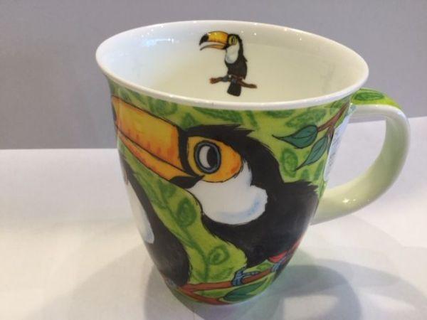 Porzellan Tassen Modell Nevis (Tukan)