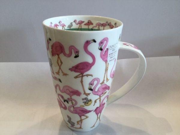 Porzellan Tasse Modell Henkley (Flamingos)
