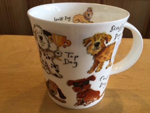 Porzellan Tasse A Dogs Life