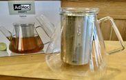 AdHoc Teekanne Orient+ Teekanne aus hitzebeständigem, geschmacksneutralem Borosilikatglas