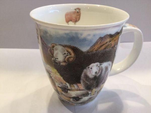 Porzellan Tassen Modell Nevis (Schafe)