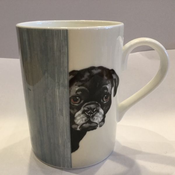 Porzellan Becher (DOG THROUGH THE DOOR LUCY MUG 3)