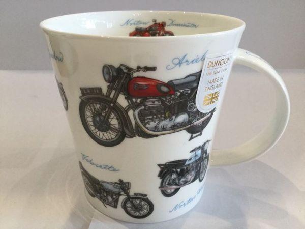 Porzellan Tasse (Motorrad)