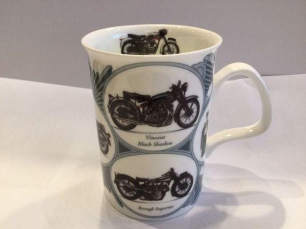 Porzellan Becher (Motorräder)