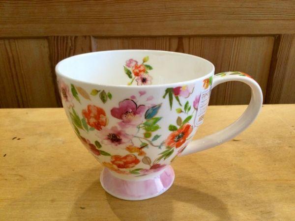 Porzellan Tasse Modell Syke Fleurs Rose by Harrison Riple
