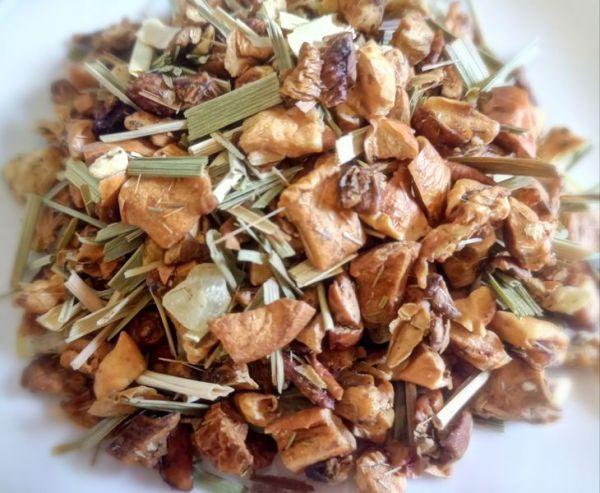 natürlich aromatisierte früchteteemischung Apfel-limette creme