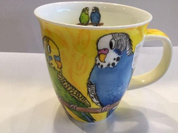 Porzellan Tassen Modell Nevis (Wellensittich)