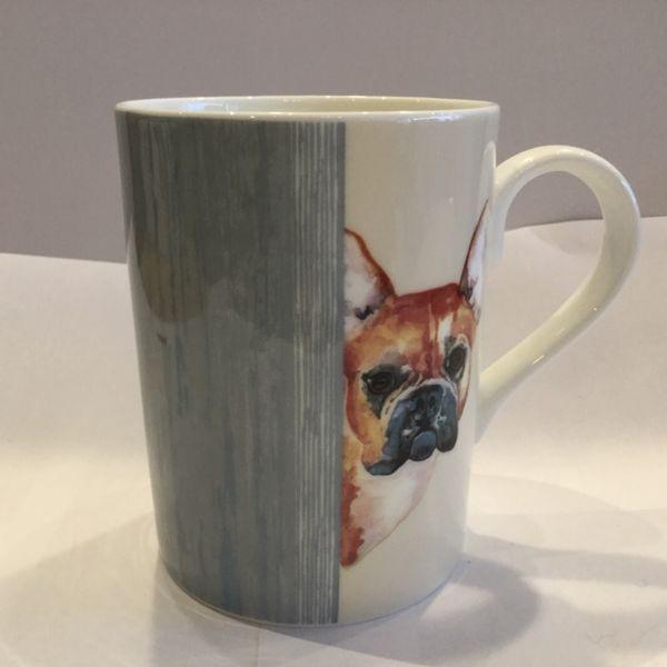Porzellan Becher (DOG THROUGH THE DOOR LUCY MUG 4)