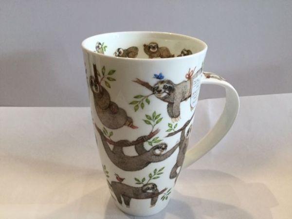 Porzellan Tasse Modell Henkley (Faultiere)