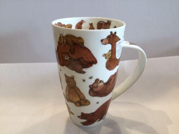 Porzellan Tasse Modell Henkley (Bären)