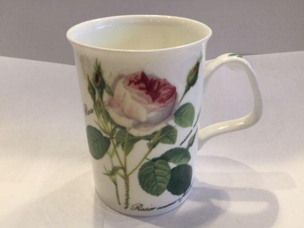 Porzellan Becher (Rose)