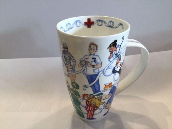 Porzellan Tasse Modell Henkley (Ärzte)
