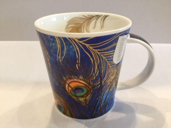 Porzellan Tasse (Shakila blau)
