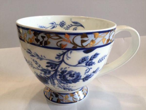 Porzellan Tasse Modell Syke (Delf Blue)